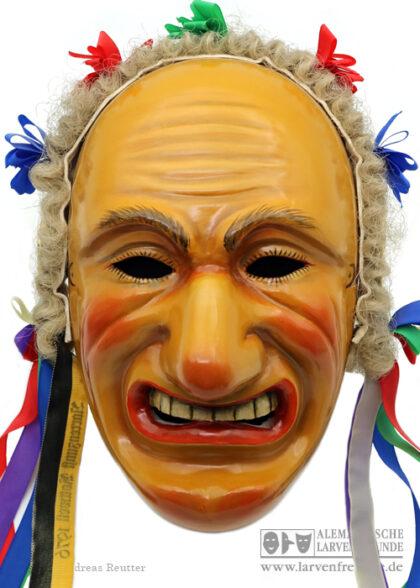 Biss Rottweil Klaiber-Kasper Holzlarve Maskenmuseum