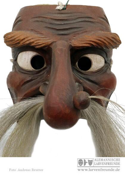 Holzlarve Telfs Wilden Maskenmuseum