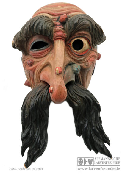 Schleicherlaufen Trostberger Telfs Bildhauer Holzmaske