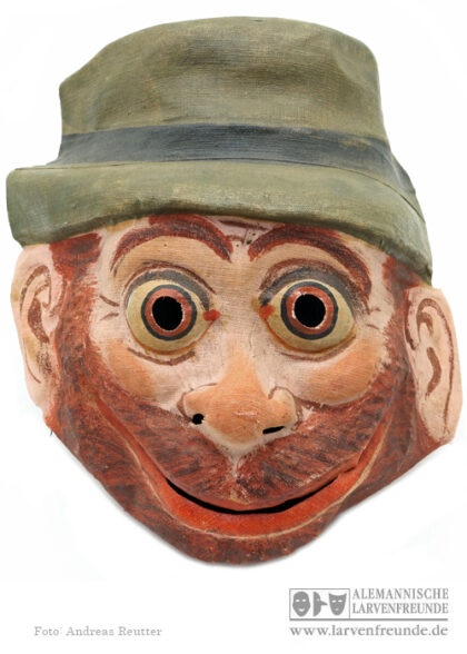 Sonneberg Maskenfabrik Gazemaske Tiermaske Affe